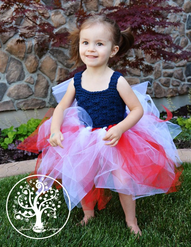 free crochet tutu tutorial - includes bodice instructions