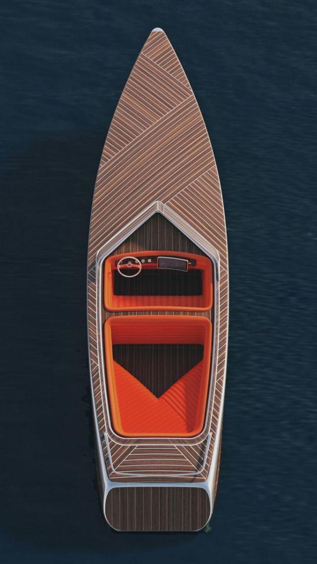 Wood speed boat
