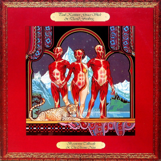 Baron von Tollbooth & The Chrome Nun  Kantner, Slick & Frieberg  Grunt BFL 1-0148  1973