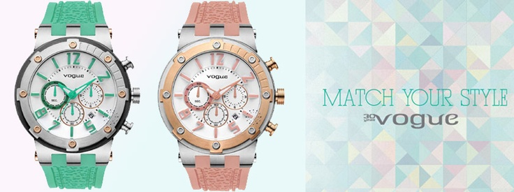 VOGUE Watches, Match your Style!!!!  http://www.oroloi.gr/index.php?cPath=489