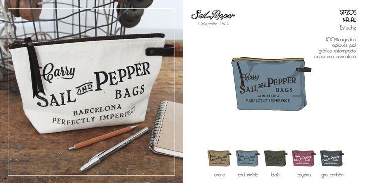 """""""NALAU"""" estuche, Sail and Pepper"""
