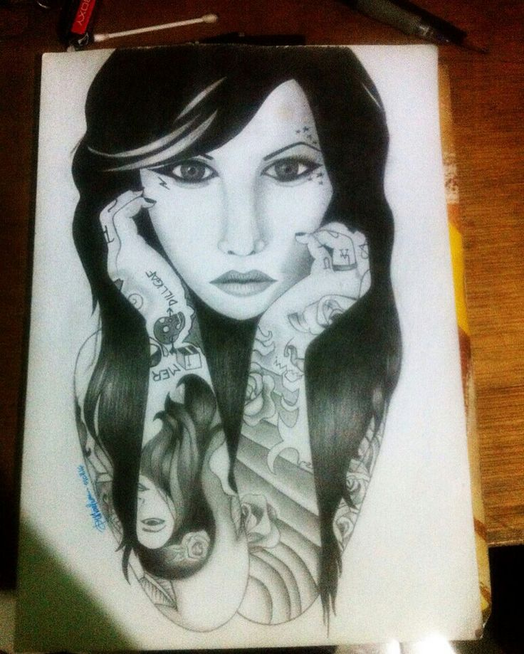 Kat Von D sketch by Key