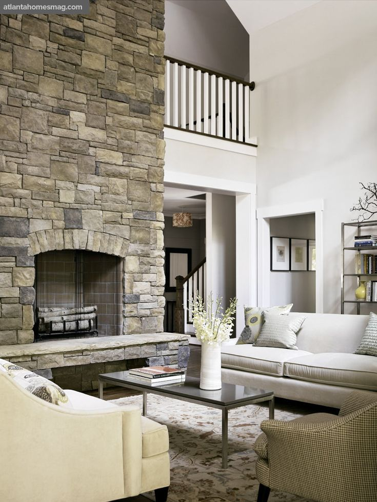 Living Room Design With Stone Fireplace best 25+ tall fireplace ideas on pinterest | two story fireplace
