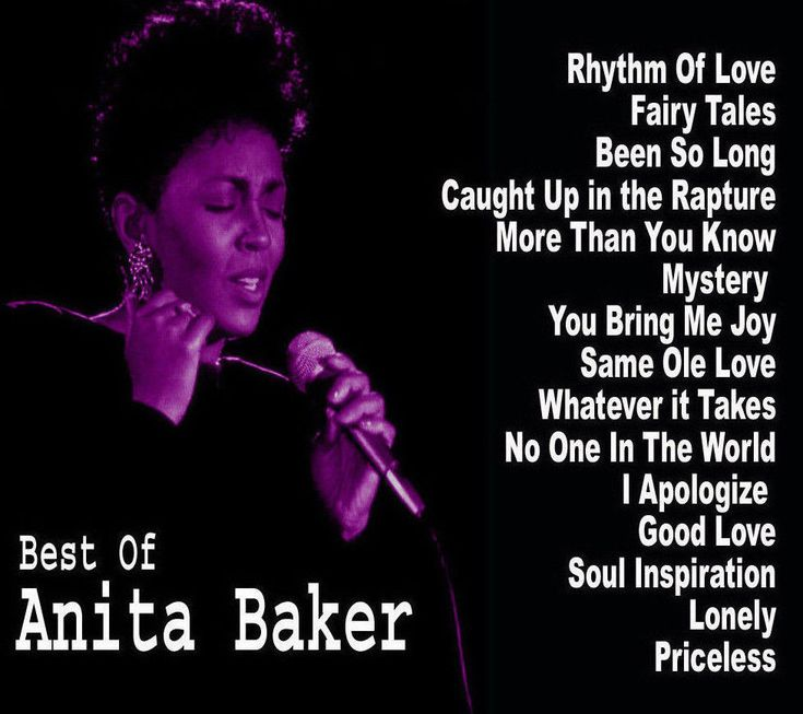 Best Of Anita Baker Greatest Hits Mix Mixtape Compilation CD