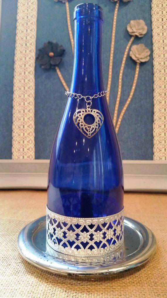 Wine Bottle Polished Off Gift Set by DellyKake on Etsy