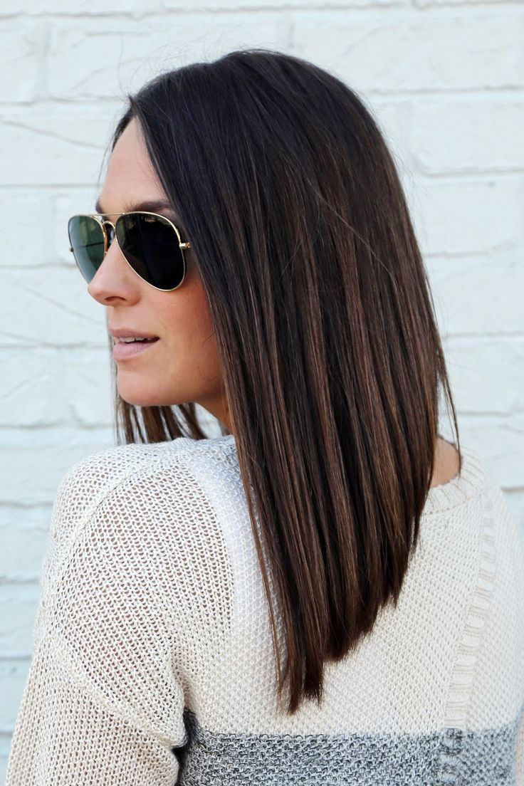 (Very) Long Angled Bob #LongBob | Beautiful Bobs ...