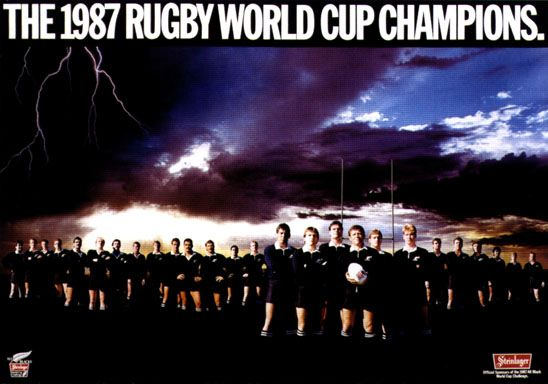 1987 Rugby World Cup Champions