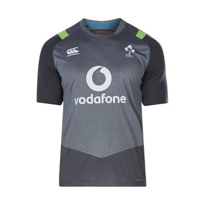 Ireland Rugby Vapodri+ Superlight T-Shirt - Asphalt Marl: Ireland Rugby Vapodri+ Superlight T-Shirt - Asphalt Marl #englandrugby