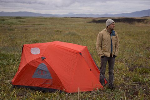 $250 The Two Man Tent - Orange by @Poler Stuff