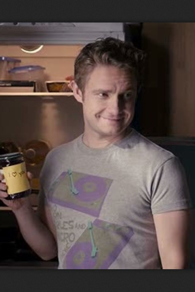 Martin Freeman and jam. My day is made!