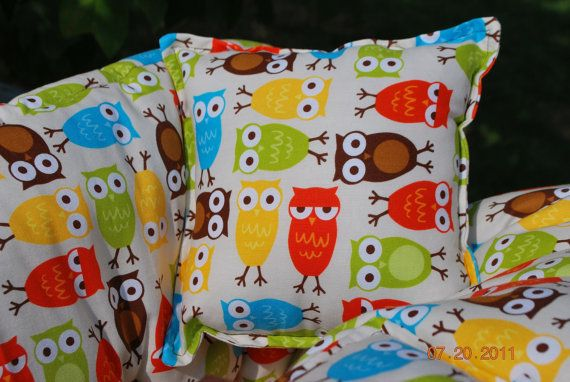TWIN Shopping Cart Cover - Custom Boutique Shopping Cart Cover- Bermuda Owl- for B/B or B/G Twins - Unisex. $85.00, via Etsy.