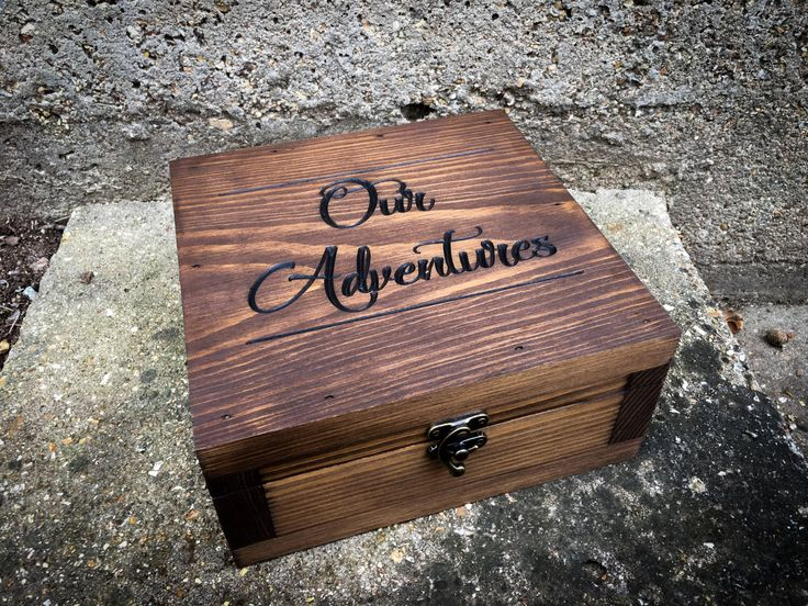 Memory box- Gift for them - Gift for her - Gift for men- Keepsake box - Groomsmen gift - Anniversary gift for him - Wedding gift - by YouandIcollection on Etsy https://www.etsy.com/listing/510410061/memory-box-gift-for-them-gift-for-her