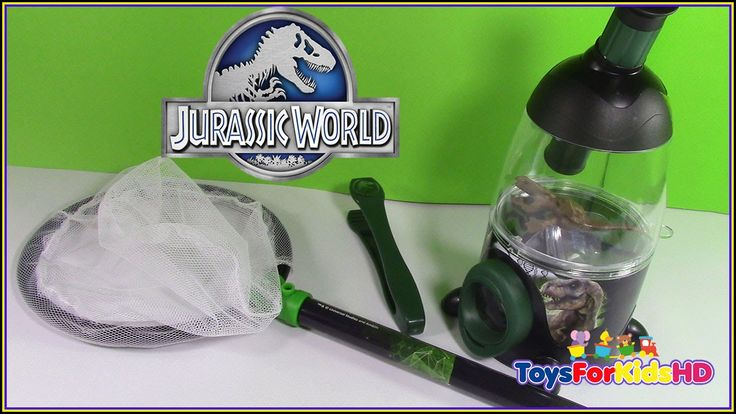 Jurassic World  kit explorador - Bug Collector Kit- Dinosaurio de juguetes
