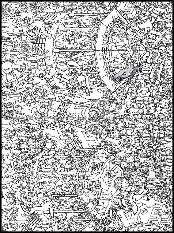 Where S Wally 16 Printable Coloring Pages For Kids Printable Coloring Book Online Coloring Pages Coloring Pages For Kids