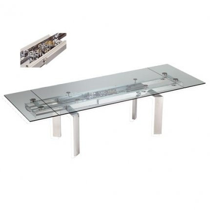 Table de repas astrolab roche bobois tables for Table extensible roche bobois