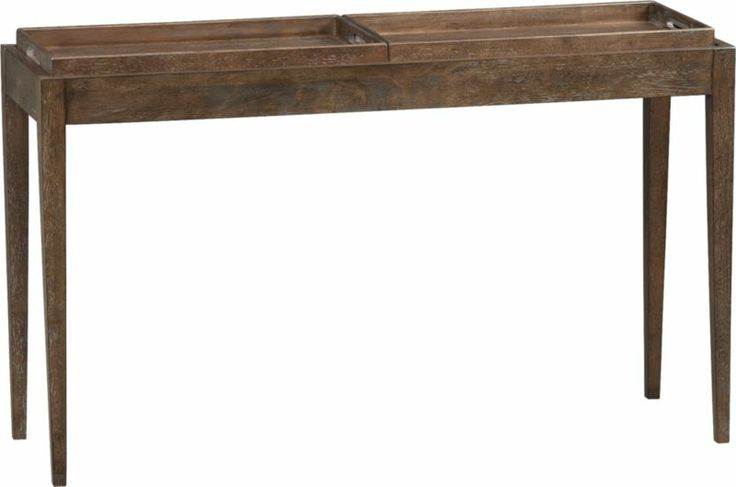 Benson Console Table Crate And Barrel Console Tables