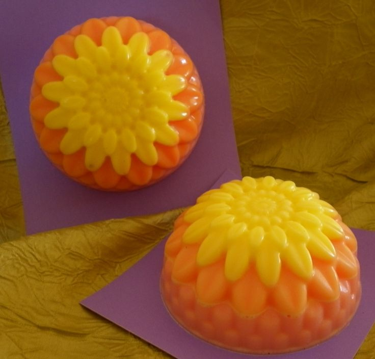 My Sunset Domes !  Scented with Wild Orange Oil