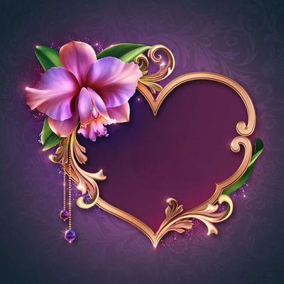 "Barnali Bagchi ~ ""Romantic Orchids."""