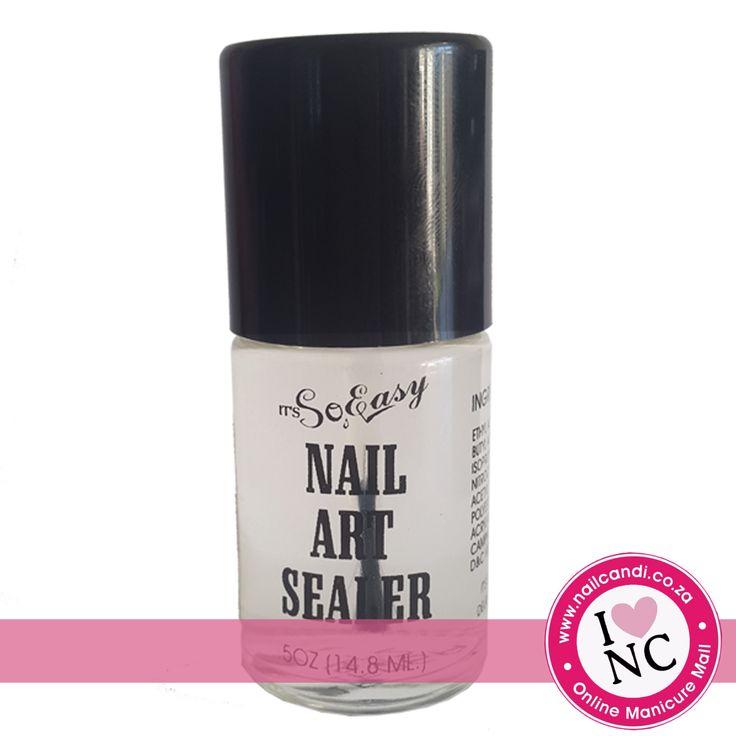 Nail art Sealer