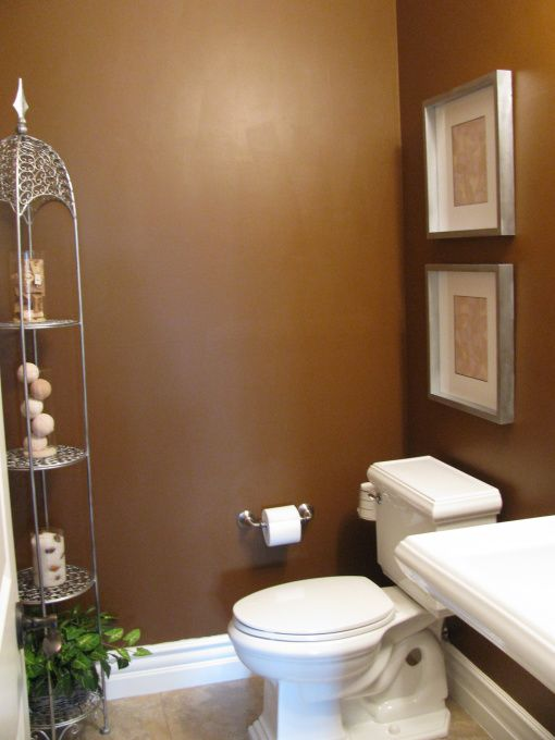 83 best images about small bathroom on pinterest for Small half bathroom ideas on a budget