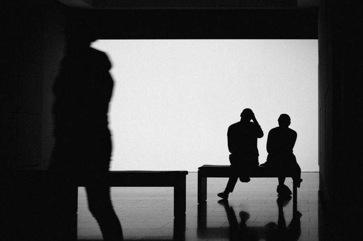 "7 Likes, 1 Comments - Alexandre Almeida (@alexmfalmeida) on Instagram: ""#silhuoette #blackandwhite #shadows #whiteboard #museumofcontemporaryart #p3top"""