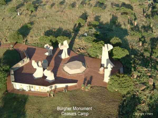 Burgher Memorial from above, Ladysmith http://www.n3gateway.com/the-n3-gateway-route/emnambithi-ladysmith-municipality.htm