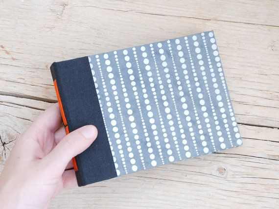 Perle Metal handmade long stitched notebook/journal by PiCKEE, €14.10