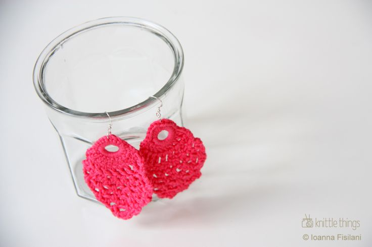 knittle things crochet earrings