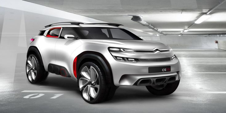 Gashetka | Transportation Design | 2015 | Citroen Aircross Concept | Design...