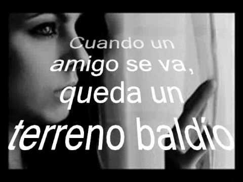ricardo Montaner - Cuando un amigo se va Lyrics | Musixmatch