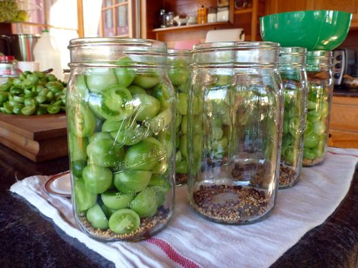 Four Ways To Pickle Green Tomatoes