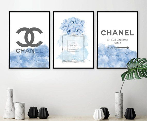 This Item Is Unavailable Peony Print Chanel Wall Art Fashion Art Prints