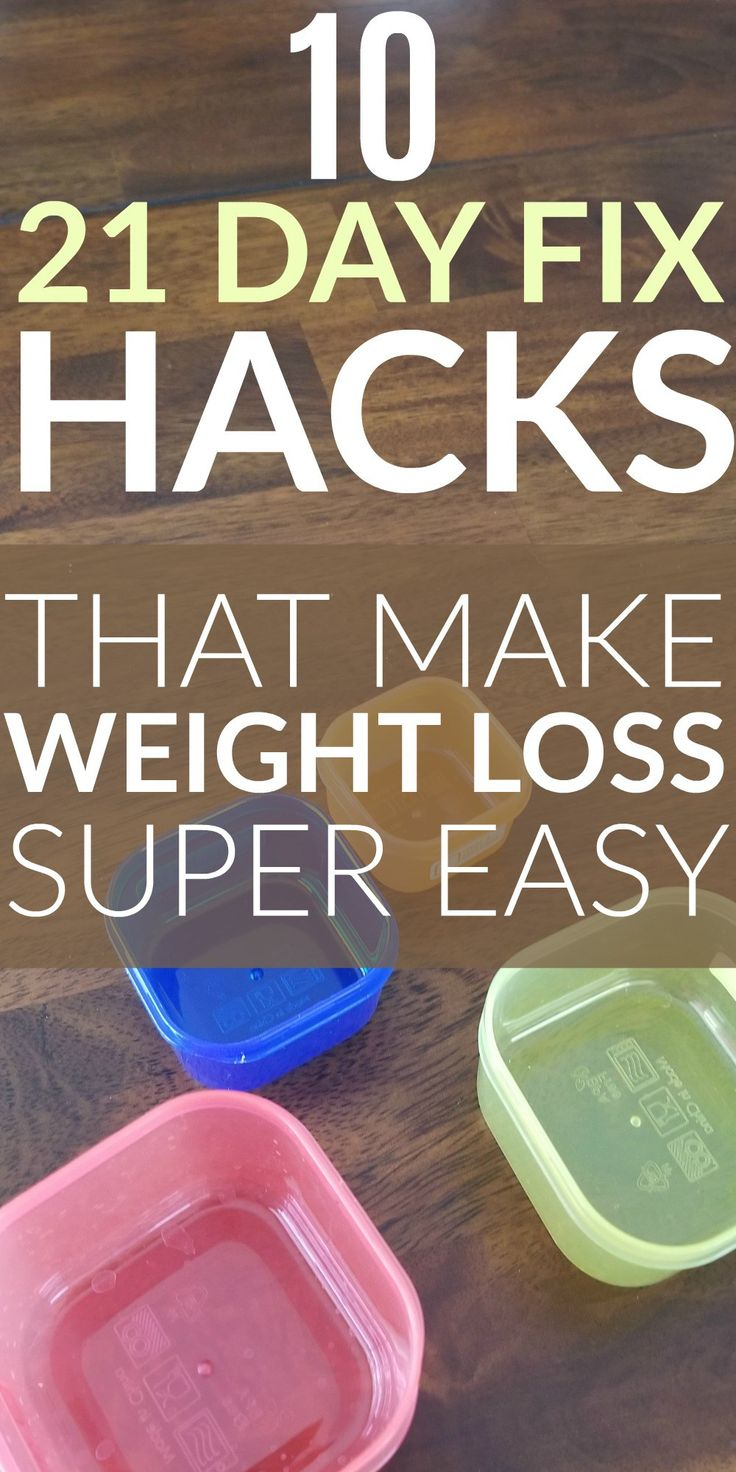 21 Day Fix Hacks that make weight loss super easy. Simple tips and ideas to make the 21 day fix easier and successful with eating plans, recipes, clean eating meal plans, fitness tips, and more.
