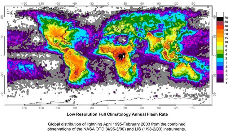 world lightning map