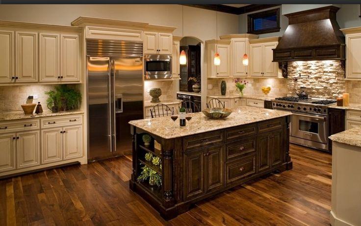 Dark Kitchen Cabinets Pinterest