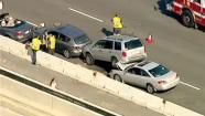 13 car pileup causing delays on Garden State Parkway