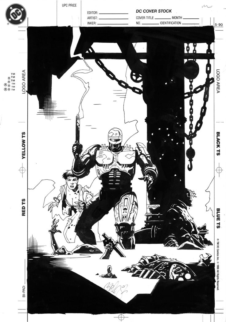 Dark Horse Comics ( 1992 ) #2 cover Comic Art By Mike Mignola
