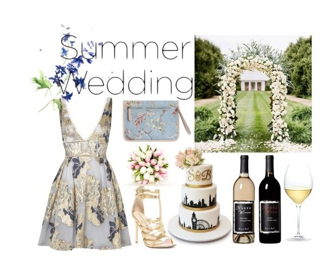 """""""Summer Wedding"""" by nagihaneren ❤ liked on Polyvore featuring Notte by Marchesa, Chinese Laundry, Zimmermann and Nordstrom"""