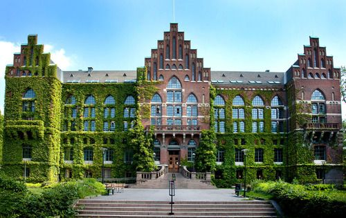 Lund University, Sweden.... reminds me of Johnston at the University of Guelph