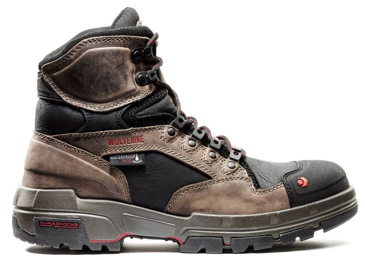 The 6 Best Rugged Work Boots You Can Buy. Trekking ShoesWolverinesSafetyWorkwearLegendsSecurity  ...