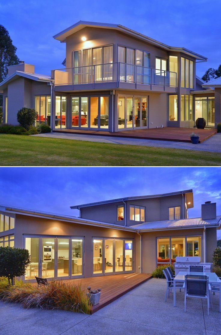 Muro de tijolo a vista fotos e modelos casa constru 237 da - Architecture