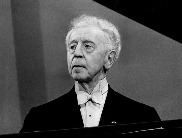"""Arthur Rubinstein.  """"At every concert I leave a lot to the moment. I must have the unexpected, the unforeseen. I want to risk, to dare. I want to be surprised by what comes out. I want to enjoy it more than the audience. That way the music can bloom anew. It's like making love. The act is always the same, but each time it's different."""""""