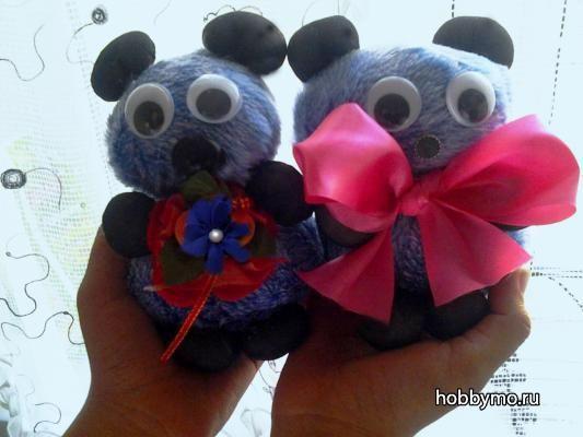 Игрушка мишка своими руками, детские поделки