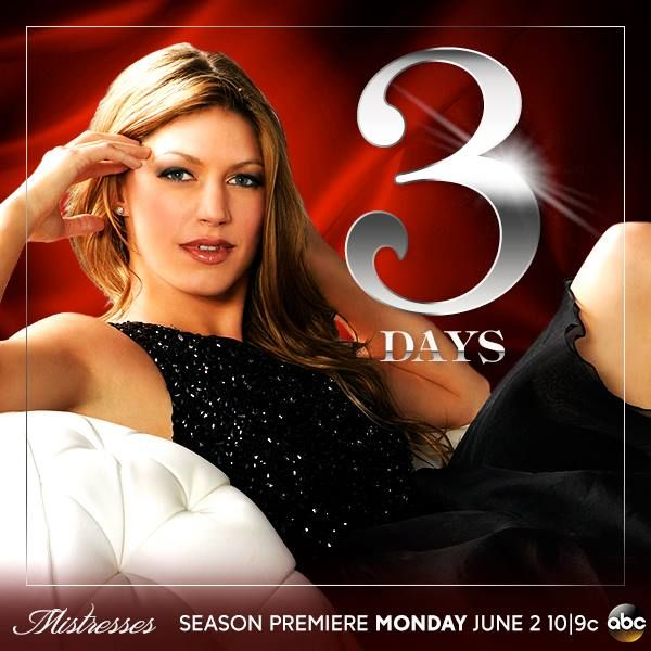 3 more days until #Mistresses' Season 2 premiere! Who's excited for more Joss?