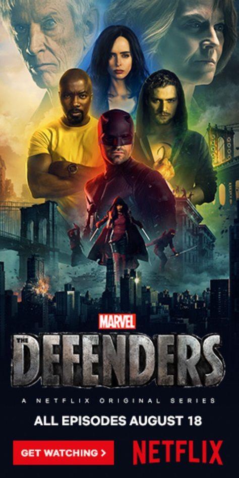 Póster de Netflix para Los Defensores (2017)