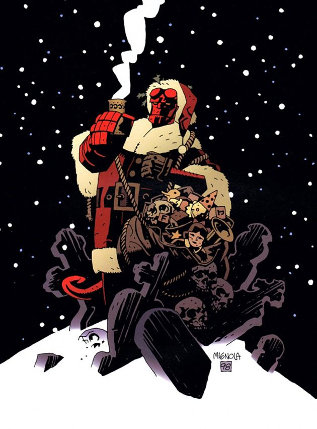 Hellboy Xmas by Mike Mignola