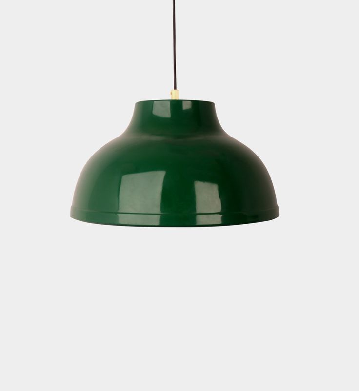 Danish pendant lamp  #forform #vintage #lamp #vintagelamp #green