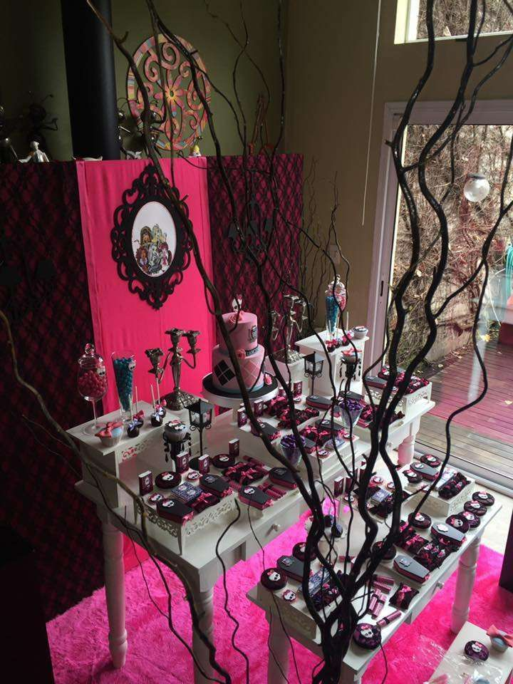 Monster High Birthday Party Ideas | Photo 2 of 23