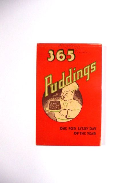 Vintage Recipe Book 365 Puddings One For Every Day Of The Year