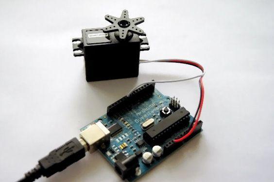 Arduino Servo Tutorial Aufbau Übersicht
